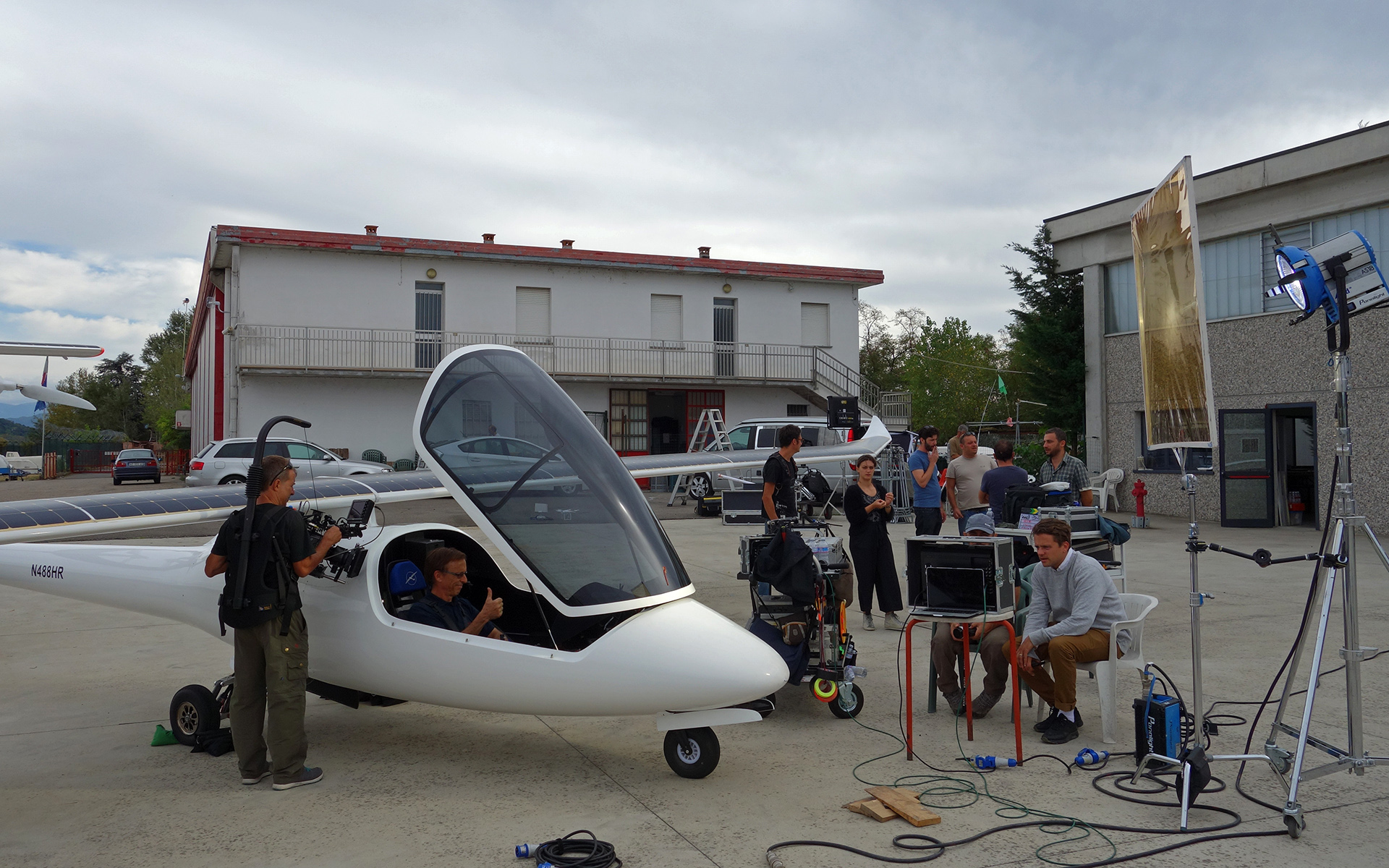 Solar Flight and Skype for Business