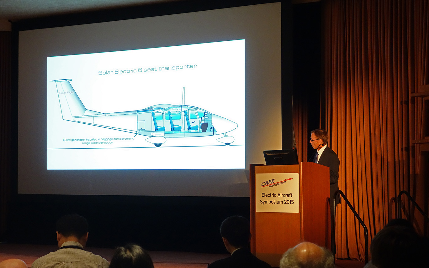 CAFE Electric Aircraft Symposium 2015