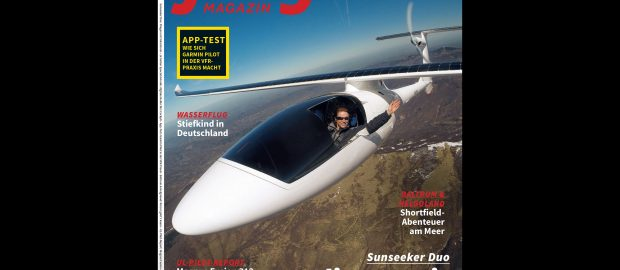 Cover story in Flieger Magazin